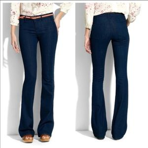 Madewell Vintage Rocker Flare Dark Wash Jeans 29